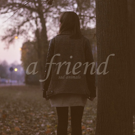 Sad Animals - A Friend EP